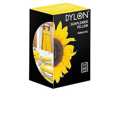 Dylon Tela Tinte - Máquina Uso - Girasol Amarillo 200g