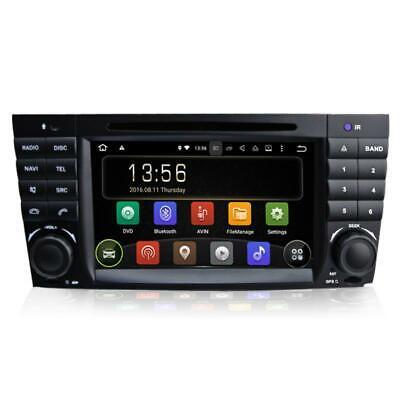 Android Autoradio DVD GPS Mercedes Benz C/CLK Class W203 W209 DAB+ USB 3G 3D A9