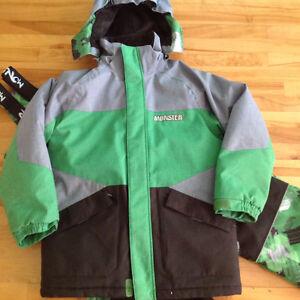 Ensemble manteau et pantalon de neige - garçon Gr. 12