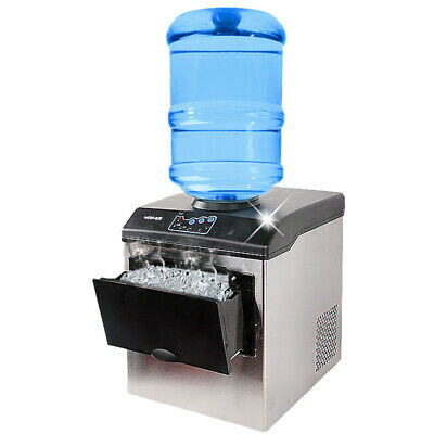 Ce Commercial Ice Making Machine Ice Maker Cube Machine 25kgday Free Shipping