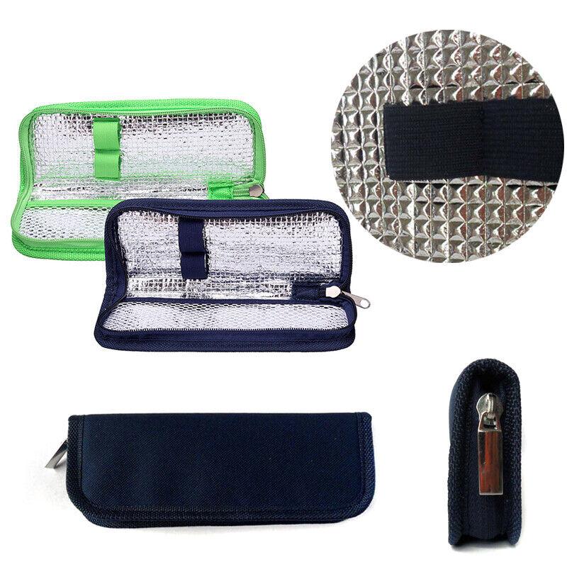 Insulin Diabetiker Kühl Tasche Medikamenten Aluminiumfolie Medikamentenkühlbox