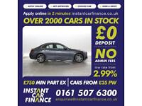Mercedes-Benz C200 1.6CDI BlueTEC AMG Line FINANCE FROM £57 PER WEEK