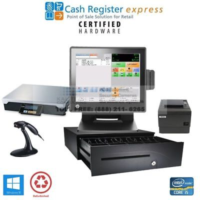 Pcamerica Pos System Cre Grocery Meat Market All-in-one Complete Pos Package