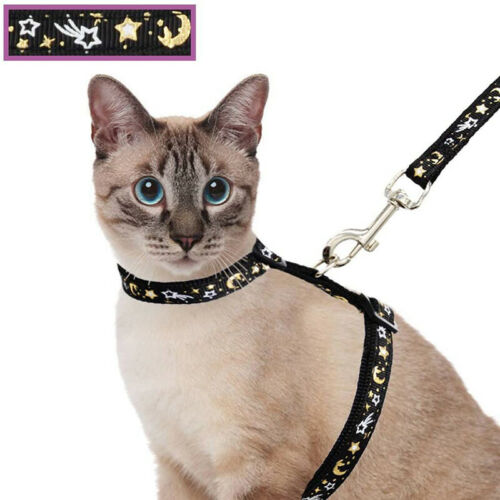 1pcs Pet Chest Strap Cat Dog Leashes L-shaped Rope Star Moon