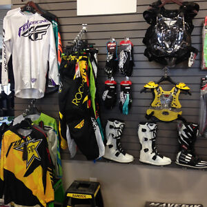 FOX AND FLY RACING MX GEAR HERE!