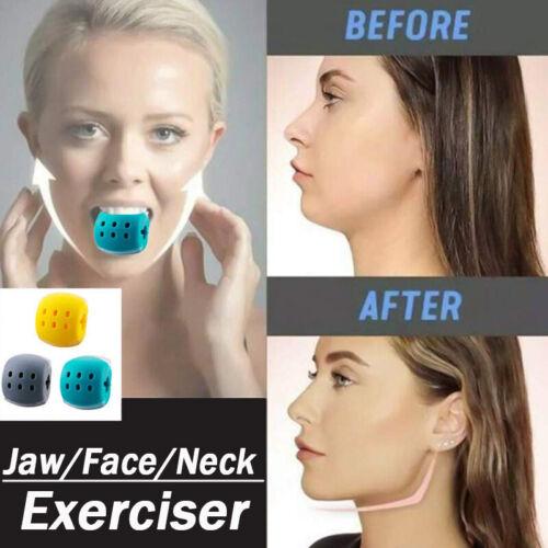 Gesichtsübungsgerät Gesichtstrainer Fitness Ball Neck Toner Jaw Line Exerciser
