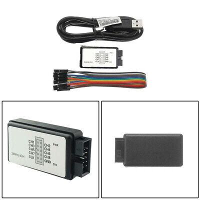 Logic Analyzer Device Usb Saleae 24m 8ch Arm Fpga For 3c Digital Support 1.1.16