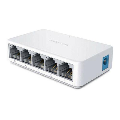 10/100Mbps Desktop Splitter 5 Port Ethernet Switch LAN Split