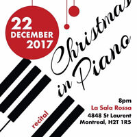 Jazz Recital - Christmas in Piano