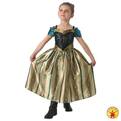 RUB 3610375 Disney Prinzessin Kinder Kostüm Anna Coronation Frozen Eiskönigin