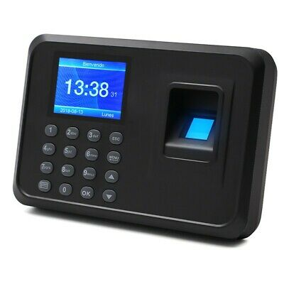 F01 Biometric Fingerprint Time Clock Employee 2.4 Screen Software-free X-sz