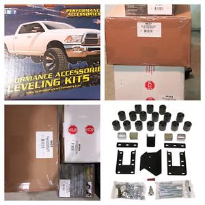 """2009-2016 Dodge Ram 1500 3"""" Body & 2""""suspension & Gapguards"""
