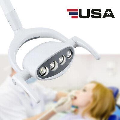 Dental Operating Shadowless Oral Light Lamp 4 Led Lens For Dental Chair Unit 15w