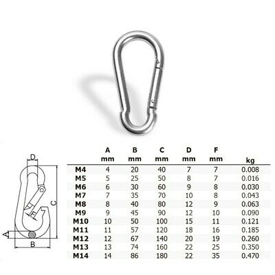 Carabiner Lock Safety Hanging Outdoor Sports Equipment Caving Climbing