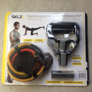 SKLZ Total Body Training System - Cables, Handles, Anchor