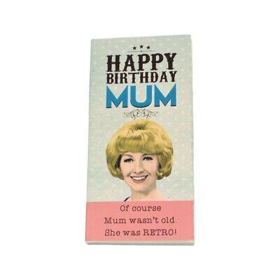 MUM Happy Birthday Chocolate Bar Card By Emotional Rescue