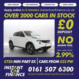 Nissan Juke 1.5dCi ( 110ps ) N-Tec LOW WEEKLY PAYMENTS £48 PER WEEK