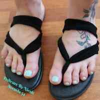 Pedicures at a reasonable cost!!!