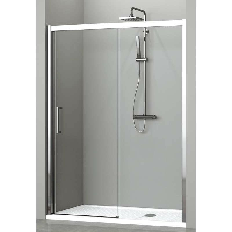 New used shower enclosures for sale in leicester for Novellini shower doors