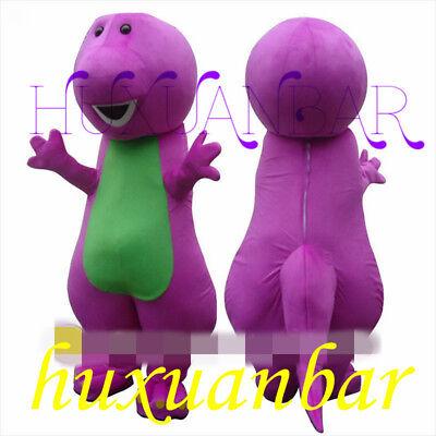 Best Cartoon Costumes (【TOP SALE】Best Barney Dinosaur Mascot Costume Cartoon Party Dress Adult Gift)