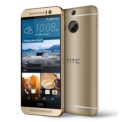"Gold Smartphone HTC One M9 T-Facile GSM 4G LTE 32GB 5.0"" Android 20MP Cell Phone"
