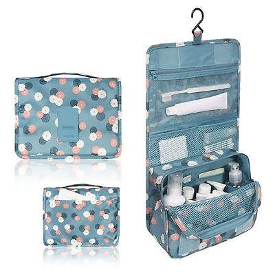 Travel Organizer Toiletry Makeup Cosmetics Hanging Shaving Kit Storage Bag