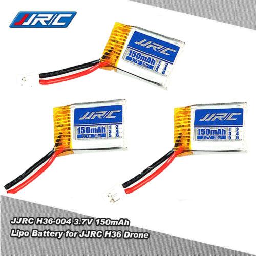 3Pcs JJRC H36 3.7V 150mAh Lipo Battery w/ X5 1 to 5 Charger Set for E010 RC Part