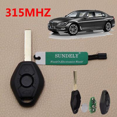 AU Remote Key 3 Button 315MHz for BMW E81 E46 E39 E63 E38 E83 E53 E36 E85 O5L2
