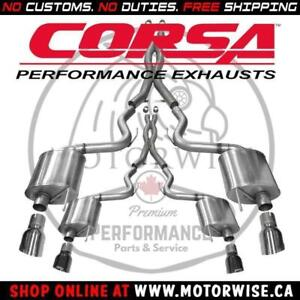 Corsa Xtreme Catback Exhaust | 2015 to 2017 Ford Mustang GT | Shop & Order Online at www.motorwise.ca