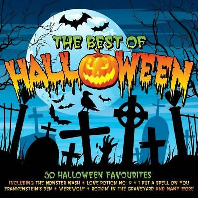 THE BEST OF HALLOWEEN - 50 HALLOWEEN FAVOURITES (NEW SEALED - Best Rock Halloween Music