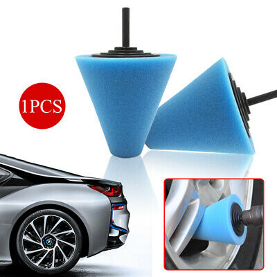 Cone Shaped Polishing Sponge Pads Tool Fits Car Automobile Wheel Hub Parts - Parts Toyota Sequoia