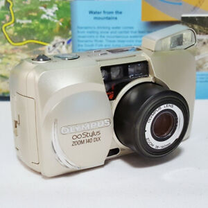 Olympus Stylus Zoom 140 DLX mju 1 I Film Camera ~ MINT CONDITION