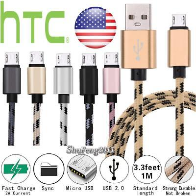 Micro Usb Charging Phone Data Sync Charger Cable For Htc One M8s