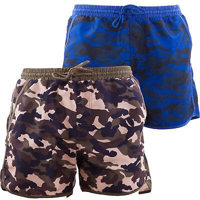 Bermuda Mann Kostüm Mimetikum Camo Militär Shorts Boxer-Shorts Neu - Männliche Militär Kostüm