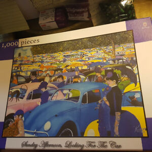Sunday Afternoon, Looking for the Car 1000 pc puzzle
