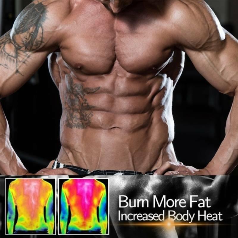 Men Sweat Sauna Thermo Vest Trainer Weight Loss