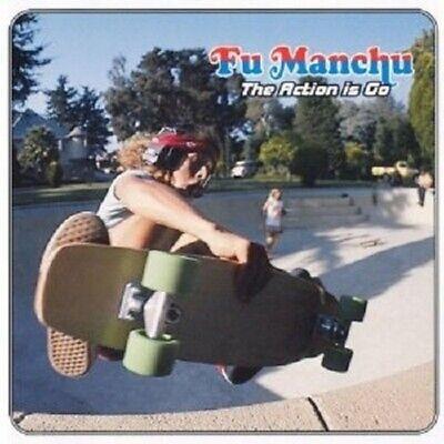 FU MANCHU - THE ACTION IS GO  VINYL LP  14 TRACKS PSYCHEDELIC ROCK  NEU