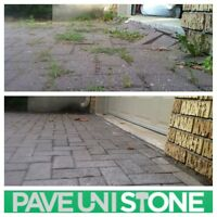 PAVER CLEANING & SANDING, SEALING & RE-LEVELLING