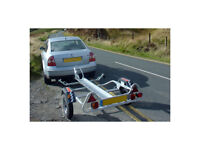 Motorcycle Motorbike Trailer Hire **All Straps Included**