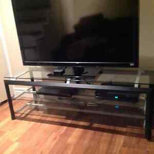 BEAUTIFUL, SOLID, NEW CONDITION TV STAND - ENTERTAINMENT UNIT