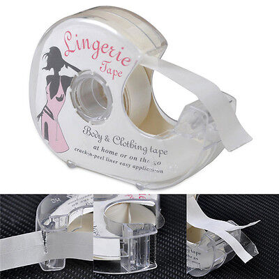 Double-Sided Lingerie Tape Adhesive For Clothing Dress Body Wedding Prom (Double Sided Cloth Tape)