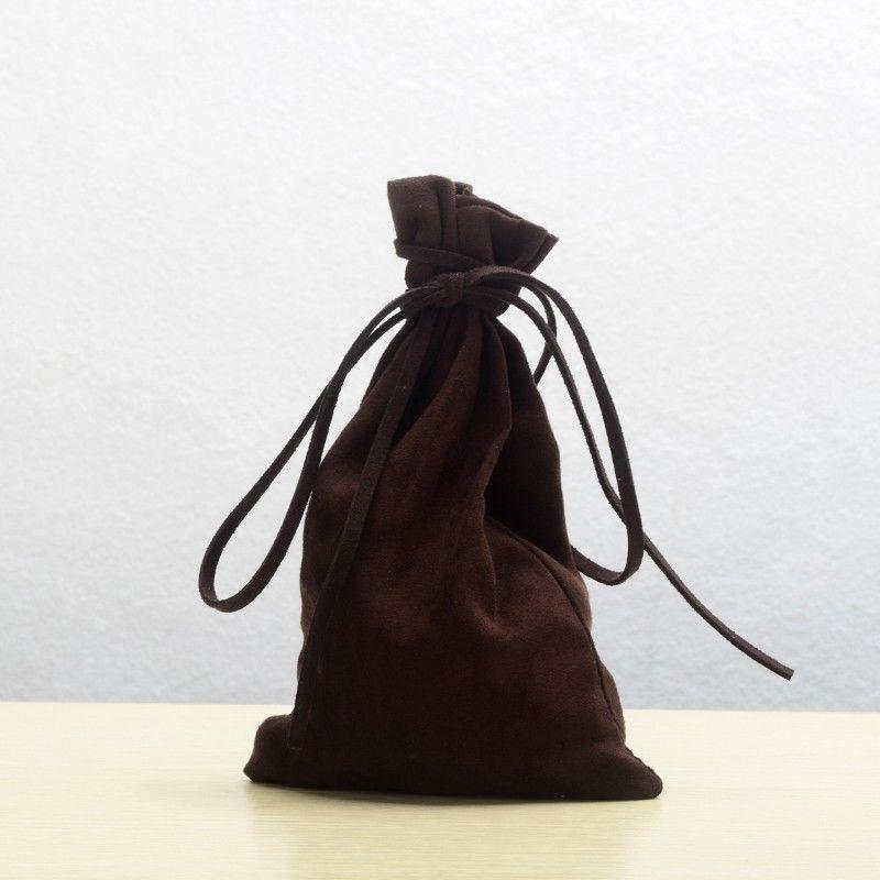 Medieval Larp Drawstring Bag Pagan Reenactment Coin Wallet Mini Bag Purse