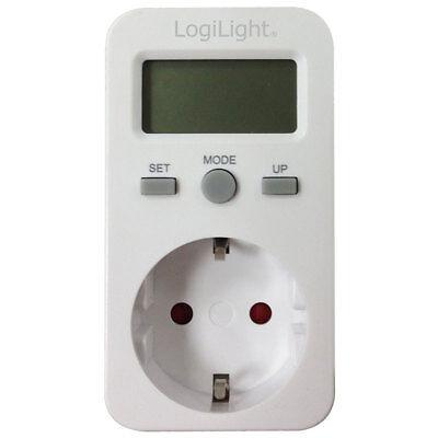 LogiLight EM0002 Energiekosten Messgerät Stromzähler Energiemesser Verbrauch