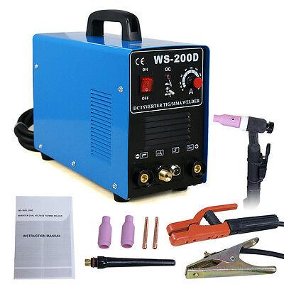 Dc Inverter High Frequency Hf Start Welder 200amp Tigmma Welding Machine