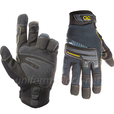 Clc Work Gloves Mens Flex Grip Tradesman Gloves With Impact Protection 145