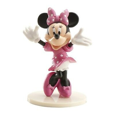 Cake Topper Figure Decoration Birthday Characters Disney Dekora - MINNIE MOUSE - Minnie Mouse Cake Decoration