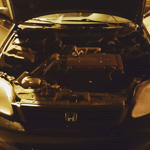 Hatchback honda civic 2000