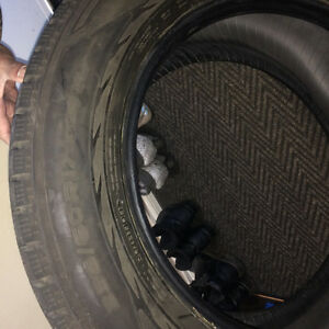 set of 4 winter tires Edmonton Edmonton Area image 3