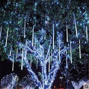 LED light Meteor Shower For Christmas Lighting Party Wedding
