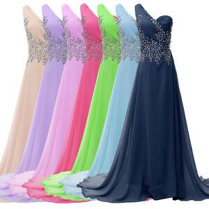 Plus long design evening formal bridesmaid wedding ball for Ebay cheap wedding dress